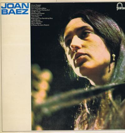 Joan Baez/ Original 1960 Uk Press
