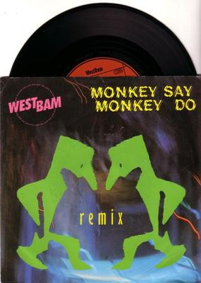 Image for Monkey Say Monkey Do/ The Whip