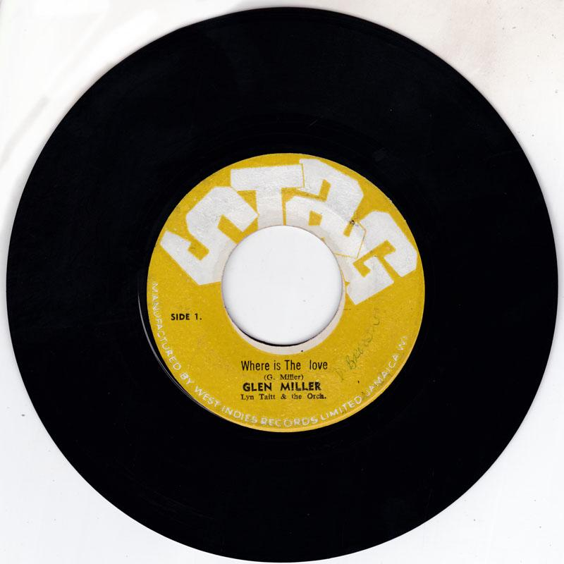 Glen Miller - Where Is The Love / Funky Broadway - Stag 3168