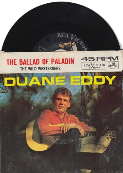 The Wild Westerners/ The Ballad Of Paladin