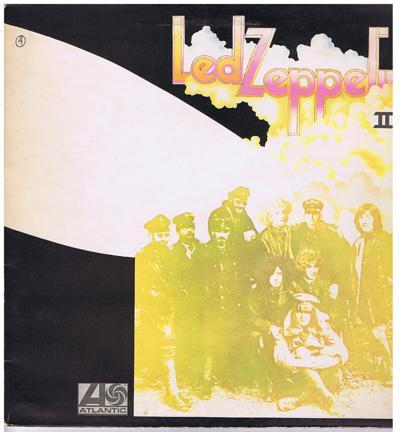 Led Zeppelin Ii/ 1972 Uk Press In Gatefold Slee