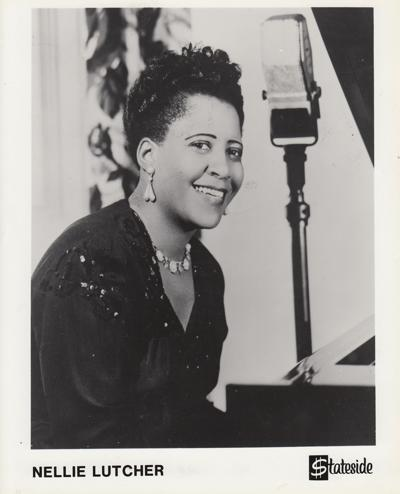 Nellie Lutcher Stateside Emi Promo Photo/ Stateside Emi Promo Photo