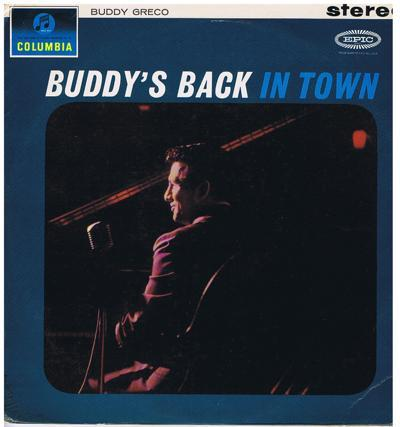 Buddy's Back In Town/ Original 1961 Uk Stereo Press