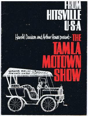 THE TAMLA MOTOWN SHOW 1965 - From Hitsville U.S.A. - Hastings Printing