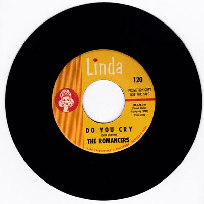 Romancers - Love's A Thing / Do You cry - Linda PROMO