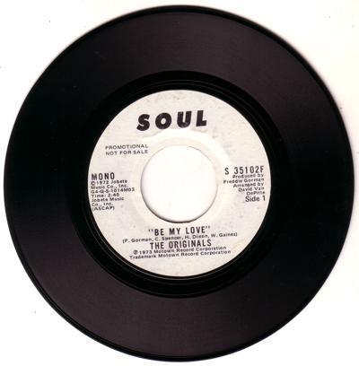 Be My Love/ Same: 2.40 Mono Version