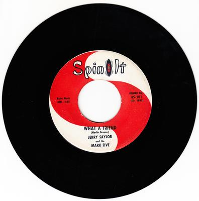Jerry Saylor - What A Friend / (Do The) U.T. - Spin It 101 DJ