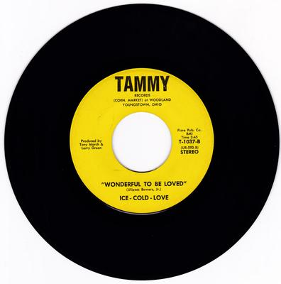 Ice-Cold-Love - Wonderful To Be Loved / Sheer Magic - Tammy T-1037