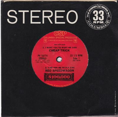 $100,000/ Special 4 Track 33rpm  Ep
