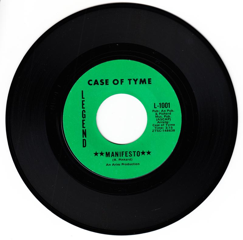 Case Of Tyme - Manifesto / Some call It Love - Legend L-1001