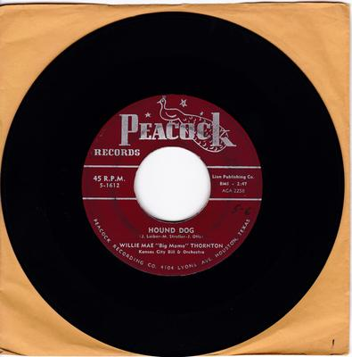 "Willie Mae ""Big Mama"" Thornton - Hound Dog / Night Mare - Peacock 5-1612"