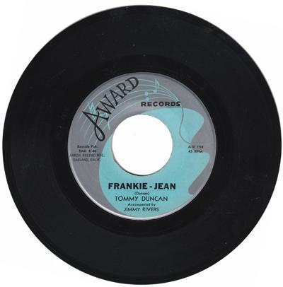 Frankie Jean/ Let Your Troubles Go Down With
