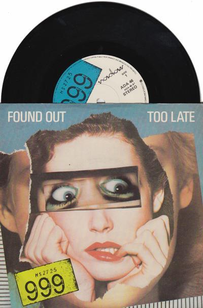 Found Out Too Late/ Lie, Lie, Lie