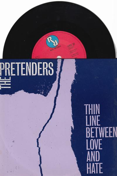 Thin Line Between Love And Hate/ Time The Pretender