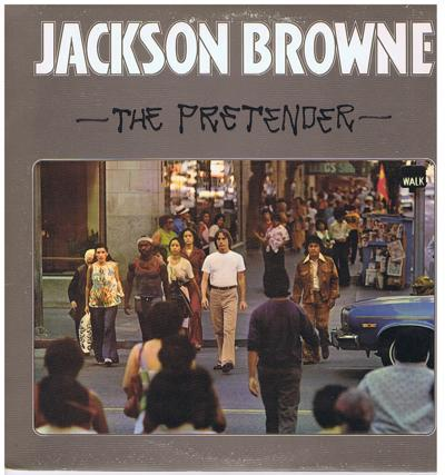 The Pretender/ 1976 Uk Press In Texture Cover