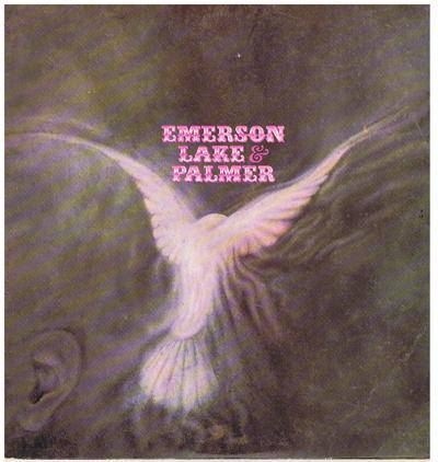 Emerson, Lake And Palmer/ Pink Label White I 1970 Orig.
