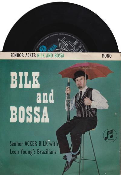 Bilk And Bossa/ 1963 Uk 4 Track Ep With Cover