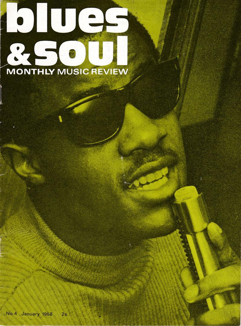 Blues & Soul - # 4 January 1968 - Contempo