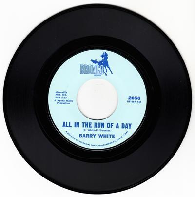 All In The Run Of A Day/ Don't Take Your Love From Me