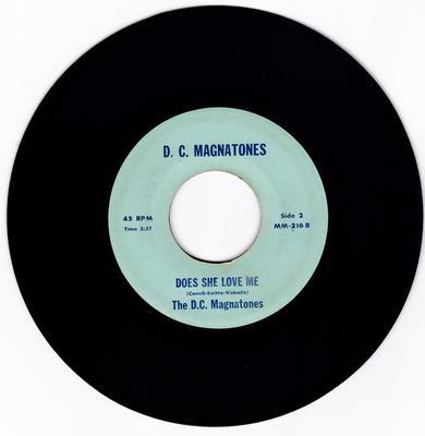 D. C. Magnatones - Does She Love Me / No Room For Two - D. C. Magnatones 216