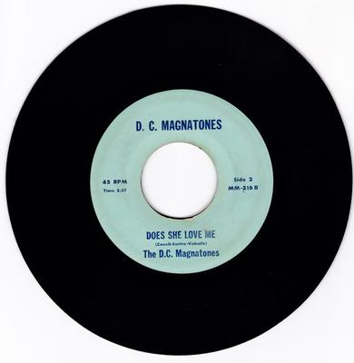 D. C. Magnatones - Does She Love Me / No Room For Two - D. C. Magnatones 216