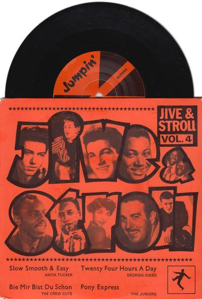 Jive And Stroll Volume 4/ 4 Track Ep With Cover