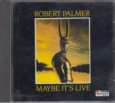 Maybe Its Live/ 10 Track Cd