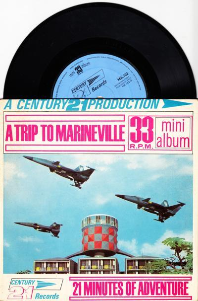 A Trip To Marineville/ 1965 Original In Laminate Slv