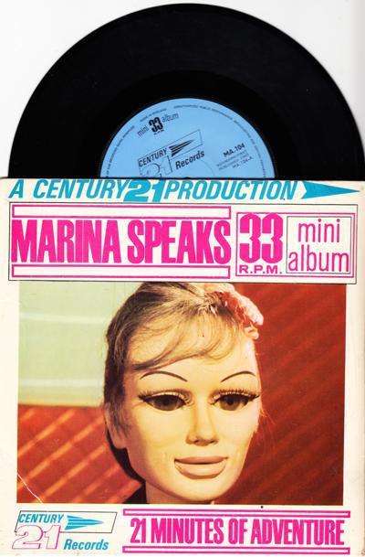 Marina Speaks/ Original 1965 In Lamionate Slv