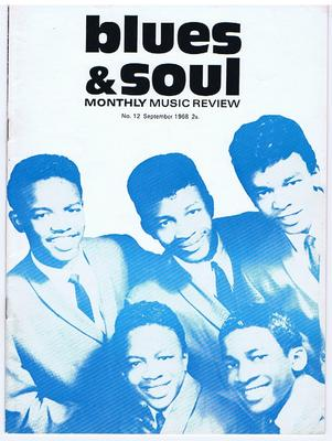 Blues & Soul - Issue 12 September 1968 / Monthly Music Review - Contempo Publications 12