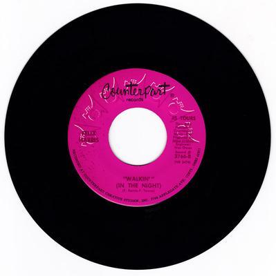 Felix Harris - Walkin' (In The Night) / Blueberry Hill - Counterpart 3766