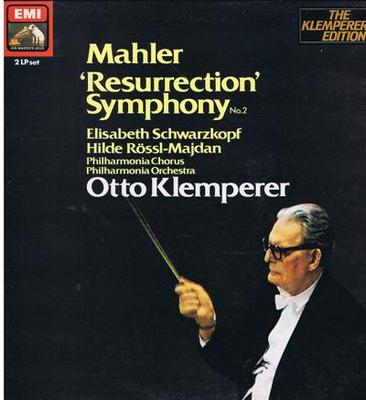 Image for Mahler Resurrection Symphony No. 2/ Immaculate 1984 Uk Dbl