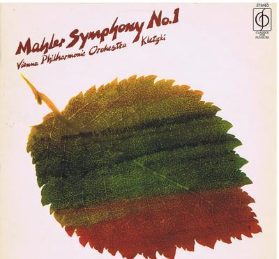 Image for Mahler Symphony No. 1/ A Flawless 1962 Uk Copy