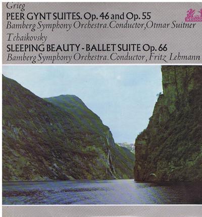 Peer Gynt Suites Op. 46 & Op. 55/ Sleeping Beauty Suite 66