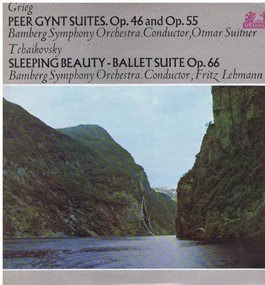 Image for Peer Gynt Suites Op. 46 & Op. 55/ Sleeping Beauty Suite 66