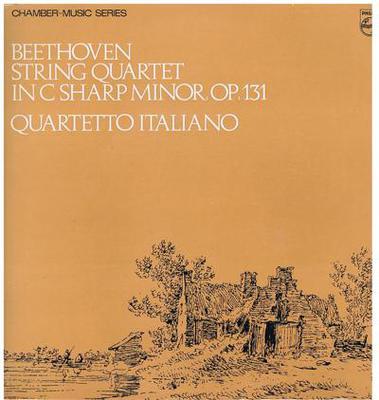 Image for Beethoven - String Quartet No. 14/ In C Sharp Min Or Op. 131