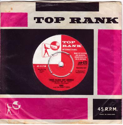Nino and the Ebb Tides - Those Oldies But Goodies / Don't Run Away - Top Rank JAR 572
