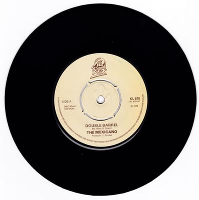 Mexicano c/w Vulcans - Double Barrel /  Double Barrel instrumental - Klik 618