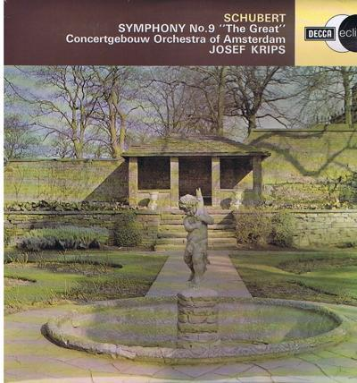 Schubert Symphony No. 9 - The Great/ Immaculate Copy Perfect Cond.