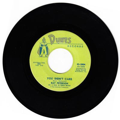 You Didn't Care/ Sweet Little Kathy