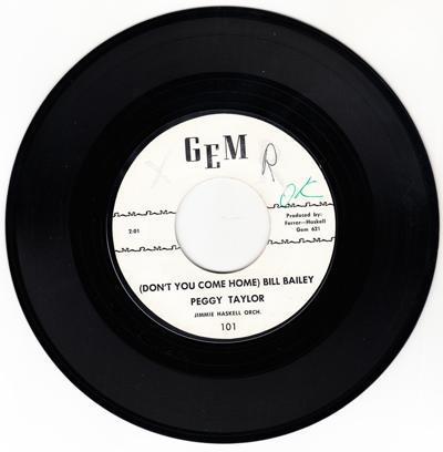 Don't You Come Home Bill Bailey/ So Similar