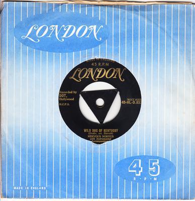 Nervous Norvus - Ape Call / Wild Dog Of Kentucky - London Gold Tri