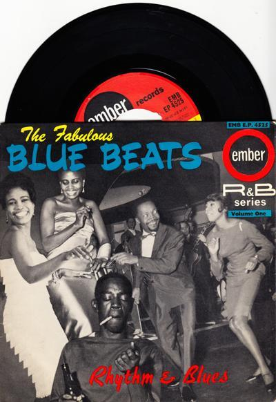 Rhythm And Blues Volume 1/ 1964 Uk 4 Track Ep With Cover