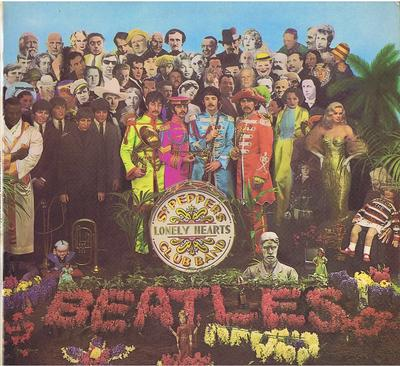 Beatles - Sgt. Peppers Lonely Hearts Club Band / 1967 first press - Parlophone PCS 7027