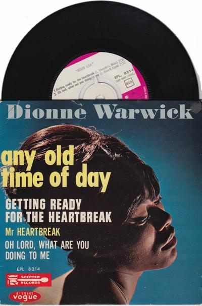 Any Old Time Of Day/ 1964 4 Track Ep With Cover