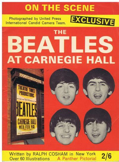 Beatles At Carnegie Hall/ 1964 40 Page 60 Pics