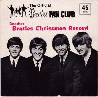 Beatles - Official Beatles Fan Club Christmas Record / 1964  + original mailer and merry Christmas card - Lyntone LYN 757