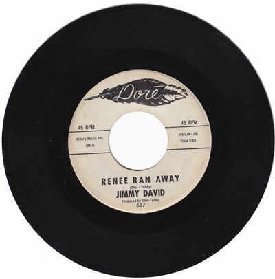 Renee Ran Away/ A Walkin' To Paradise