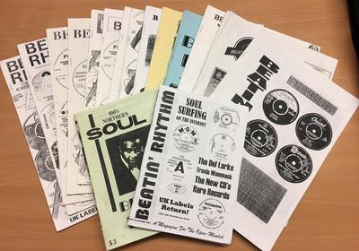 Beatin' Rhythm - Soul Fanzines issue from 1 to 16 - The Full Set