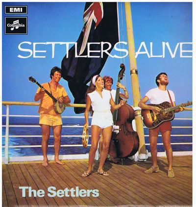 Settlers Alive/ 1970 Uk Press Flawless